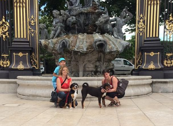 Et s'est rendue sur notre très belle Place Stanislas, à Nancy